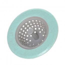 QueenTime fregadero de cocina colador de silicona tapón de fregadero Color caramelo Filtro de drenaje baño Filtro de pelo Durabl
