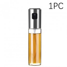 Cocina Para hornear aceite de cocinar de Spray de aceite botella vacía botella de vinagre de botella de dispensador de aceite de