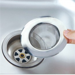 LINSBAYWU de acero inoxidable para el cabello de la bañera tapón de ducha desagüe agujero filtro trampa cocina Filtro de metal p