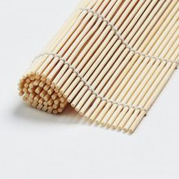 Nuevo 1 Uds Sushi herramienta de bambú rodante Mat DIY Onigiri arroz rodillo pollo rollo de mano cocina Japonesa Sushi hacer her