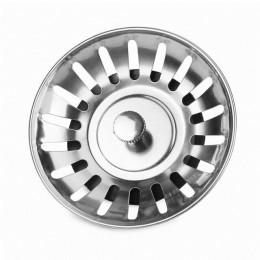 Nuevo fregadero de cocina tapa de tapón de filtro de acero inoxidable lavabo de baño trampa para el pelo piso de desecho del fre