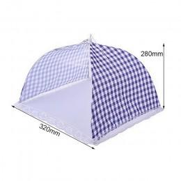 Hoomall 1 Pza cocina cubierta de malla para alimentos Anti mosca Mosquito paraguas higiene rejilla estilo comida cubierta para p