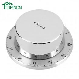 Temporizador de cocina de acero inoxidable con Base magnética temporizador de cocina mecánico Manual cuenta atrás herramientas d