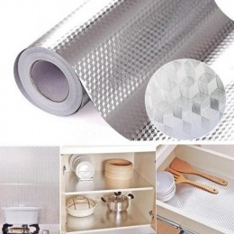Adhesivo autoadhesivo resistente al agua a prueba de aceite de aluminio hogar cocina campana estufa resistente a la temperatura