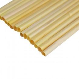 Caliente 100 unids/pack de paja de grado A + 20 CM resistente Biodegradable de paja de trigo respetuosos con el medio ambiente p
