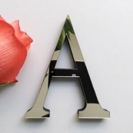 2019 nuevas pegatinas de pared diy 3d pegatina acrílica decoración boda regalo amor letras decorativas alfabeto decoración de pa