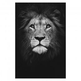 Lienzo pintura de animales arte de pared León elefante ciervos carteles de cebra e imprime cuadros de pared para la decoración d