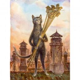 Ruopoty marco animales gatos DIY pintura por números kits arte moderno cuadro lienzo pintura regalo único para la decoración del