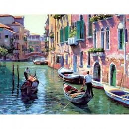 Cuadros enmarcados con paisajes pintura por números pinturas acrílicas artísticas en lienzo envío directo para la decoración de