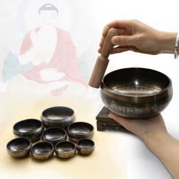 Cuenco para cantar tibetano platos decorativos en la pared decoración del budismo en el hogar Decoración decorativa del Buda Xiz