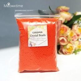 12000 unids/bolsa de agua de polímero de Gel hidrogel de Agua de Cristal de flores/boda/Decoración de bolas de agua de cultivo d