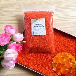 10000 unids/bolsa de agua de polímero de hidrogel de suelo de cristal perlas de agua de flores/boda/Decoración de polímeros bola