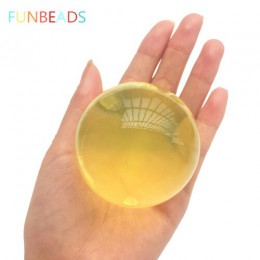 25 unids/lote 45-60mm forma de perla орбиз creciente bolas de agua Multicolor орбизы perlas de agua BOLA DE SJ13-15mm