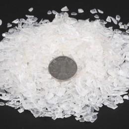 100 g/bolsa Natural mezcla de piedra de cristal de cuarzo grava Natural caída de minerales de piedra para la decoración del acua