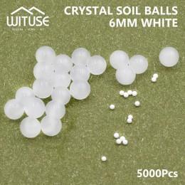 5000 unids/lote de perlas de agua de suelo de cristal, semillas de Gel hidrogel, flujo de lodo, crecimiento de bolas de agua, bu