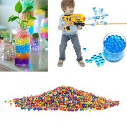 10000 unids/bolsa cristal barro tierra agua hidroge hogar Decoración bola para flores/perlas de agua de desmaleza bolas de creci