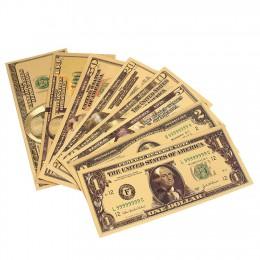 Dólares chapados en oro de 24 quilates para Michael A