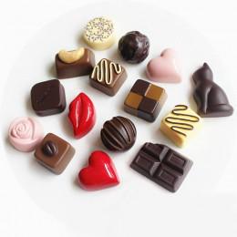 1 pieza de resina simulación Chocolate comida nevera imán mensaje información Calcomanía para refrigerador gran oferta decoració