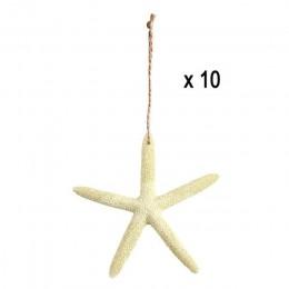 Our warm 10 Uds 4 pulgadas decoración Marina resina Artificial estrella de mar cinco dedos estrella de mar decoración náutica pa