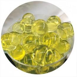 50000 unids/bolsa hidrogel perla en forma de perlas de agua de suelo de cristal bola de Gel para flores/desmaleza de barro que c