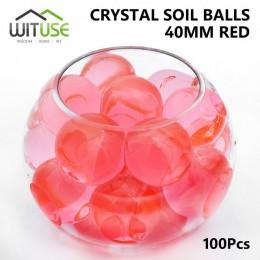 100 unids/bolsa forma de perla grande de cristal suave suelo barro juguete crecer bolas de agua de hidrogel Gel perlas de agua p