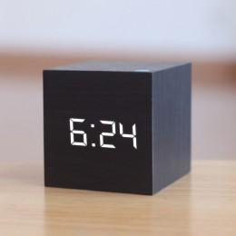 Nuevo calificador Digital de madera LED despertador reloj de madera Retro reloj luminoso mesa de escritorio decoración Control d