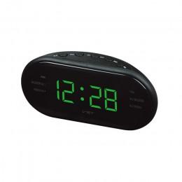17*6*8,5 cm moderno AM/FM LED Reloj Radio electrónico de escritorio despertador relojes de mesa Digital Función de dormir