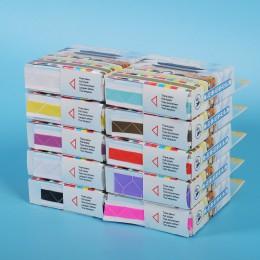 250 unids/caja autoadhesiva esquina álbum de recortes protección del medio ambiente PVC álbumes de fotos 10 colores de bombeo di