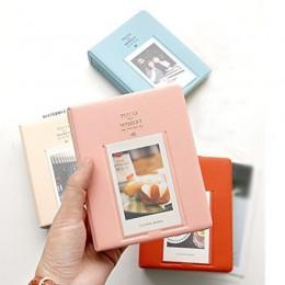 64 bolsillos Álbum de fotografías polaroid Mini Instant Picture Case almacenamiento para Fujifilm Instax Mini película 8 Corea á