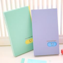 Nuevo portátil 120 bolsillos álbum de fotos BTS/EXO/GOT7 Lomo Tarjeta de fotos Tarjeta de nombre ID titular de la tarjeta de nom