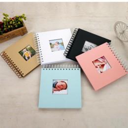 Álbum De fotos De papel álbum De fotos De bebé álbum De recortes Fotograf albúmu Diy fotoálbum De FOTOS libro De memoria para ni