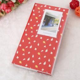 Caliente 84 bolsillos 1 Uds Mini película Instax Polaroid álbum de almacenamiento de fotos caja de moda hogar familia amigos gua