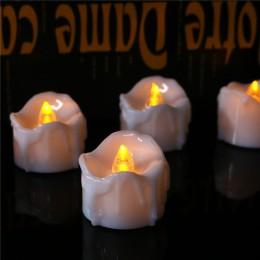 Paquete de 6 velas LED parpadeantes con temporizador, bougie mariage Batería Electrónica, Candelitas de aniversaire, 6 horas de
