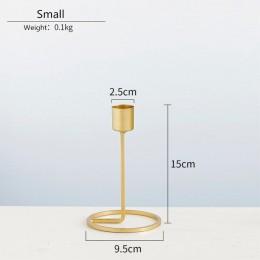 Candelabros de Metal candelabro de oro de moda de boda candelabro exquisito MESA DE NAVIDAD decoración para el hogar