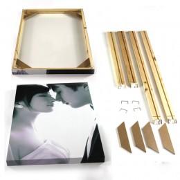 Marcos de la marca marcos para fotos marcos de madera Fábrica Proporcionar marcos de fotos pared DIY marco fotos