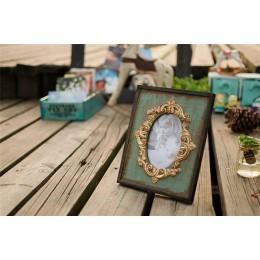 Marco de fotos Vintage decoración para el hogar madera boda escritorio pared cuadro marco cumpleaños regalos