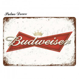 Cerveza Metal signo placa Metal Vintage cartel de lata Pub Metal placa decoración de pared para Bar Pub Club hombre cueva platos