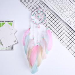 Campanas de viento volador atrapasueños regalos hechos a mano atrapasueños de plumas colgante creativo hueco campanas de viento