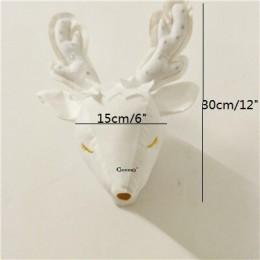 Nueva cabeza de ciervo de peluche trofeo de pared para guardería casa de invitados peluche Animal bebé niño dormitorio decoració