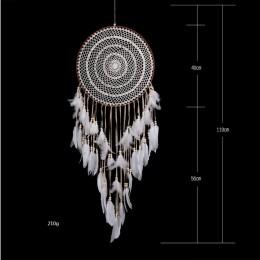 Gran cazador de sueños para decoración para el hogar Decoración nórdica hogar niños decoración de la habitación campanas de vien