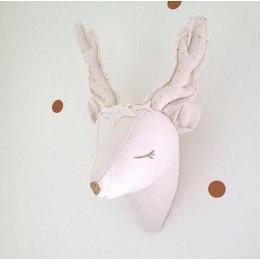 3d blanco unicornio oveja ciervo Cisne pared decoraciones animales cabeza juguetes niños dormitorio colgar pared arte regalos de