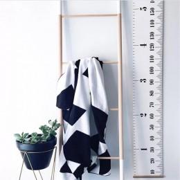 Regla de altura para bebés y niños de estilo nórdico regla de medidas de altura para niños decoración del hogar decoración artís