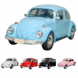 Las últimas llegadas faroot 2019 Vintage escarabajo fundido tirar atrás coche modelo juguete para niños regalo decoración bonita