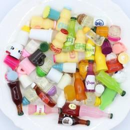 20 piezas tapa de botella miniatura casa de muñecas ornamento Mini juguete hogar artesanía Hada Bonsai decoración pastel decorac
