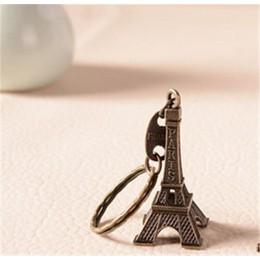 5 cm-48 cm antigüedades bronce tono Curio París Torre Eiffel estatuilla estatua de artesanías de Metal modelo Vintage decoración