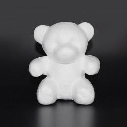 1 Uds. Modelado de poliestireno espuma blanca de espuma molde de oso de peluche para regalos de San Valentín fiesta de cumpleaño