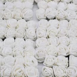 36/72/144 Uds. 2cm oso de peluche decorativo Rosa PE espuma ramo de flores artificiales para el hogar boda guirnalda de bricolaj