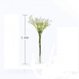 CHENCHENG 1 pieza bebés blancos respiración Artificial flores falsas gypofila DIY ramo de flores arreglo boda hogar Decoración o