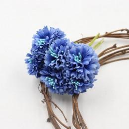 Caléndula 6 uds./manojo 3,5 cm mini ramo de flores de Margarita flores artificiales decoración de boda diy artesanía accesorios