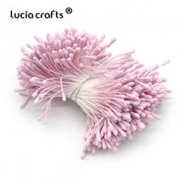 Artesanías de 1mm Multi opciones estambre de flores artificiales hecho a mano para fiesta de boda decoración del hogar Accesorio